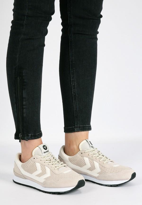 Фото 9 - женские кроссовки Hummel бежевого цвета