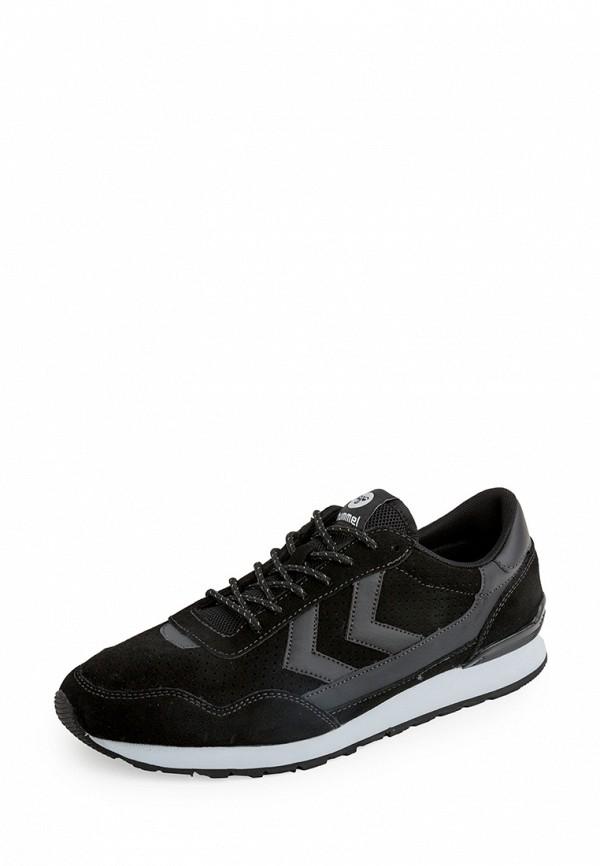 Фото - женские кроссовки Hummel черного цвета