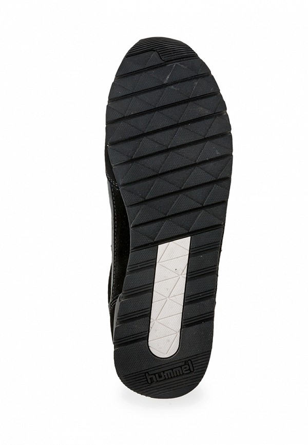 Фото 4 - женские кроссовки Hummel черного цвета