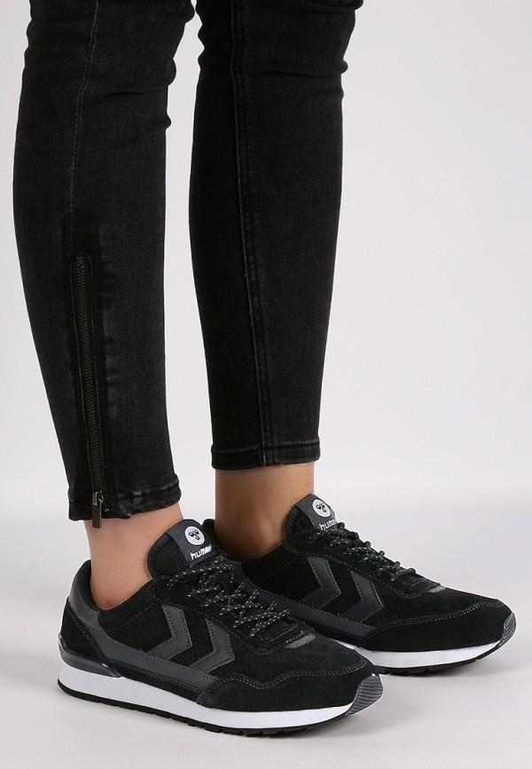 Фото 9 - женские кроссовки Hummel черного цвета
