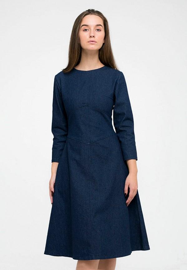 Платье джинсовое Kira Mesyats Kira Mesyats MP002XW1AM3Z платье kira mesyats kira mesyats mp002xw1am9m