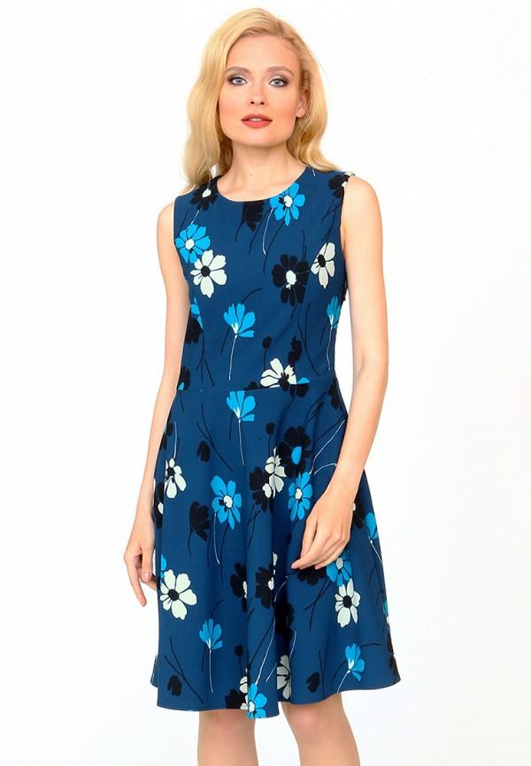 Купить Платье MARI VERA, MP002XW1ANEL, синий, Осень-зима 2017/2018