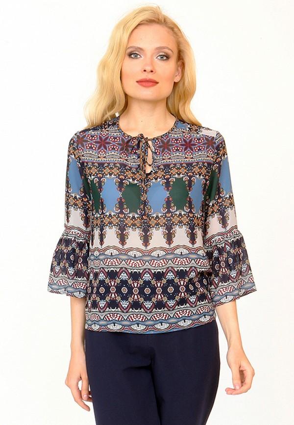 Купить Блуза MARI VERA, MP002XW1ANES, разноцветный, Осень-зима 2017/2018