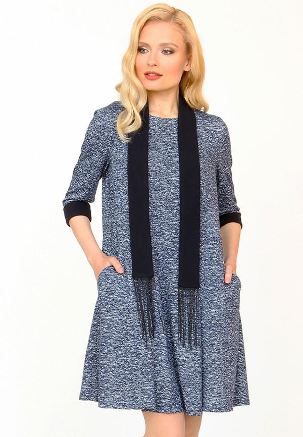 Купить Платье MARI VERA, MP002XW1ANEX, синий, Осень-зима 2017/2018