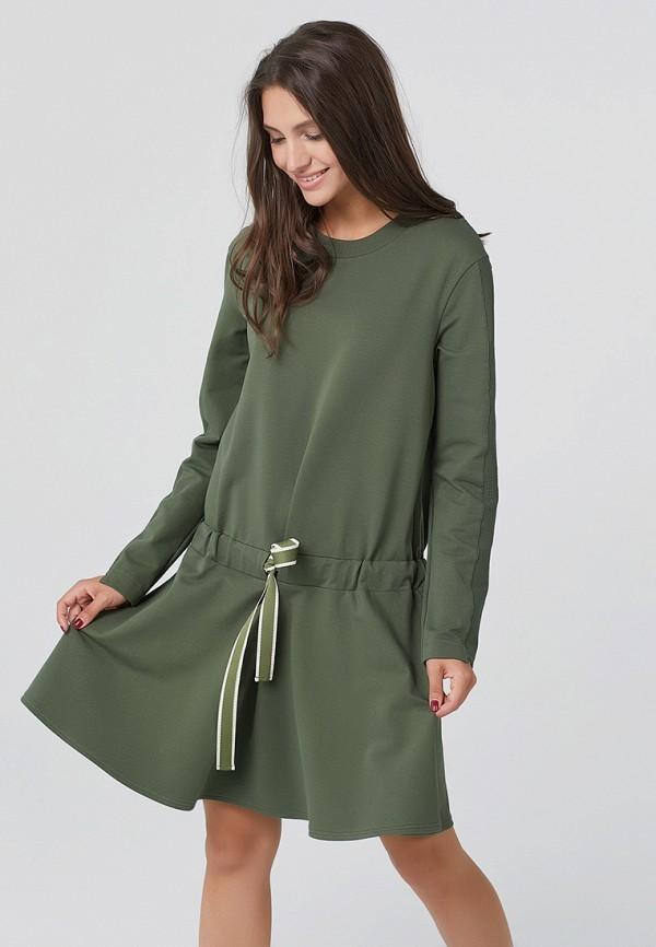 Купить Платье Fly, MP002XW1ANG9, хаки, Осень-зима 2017/2018
