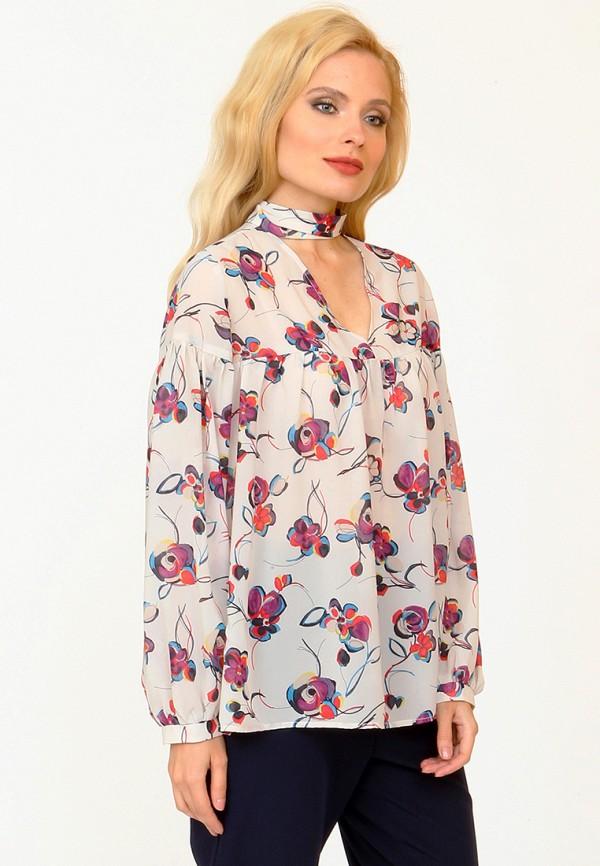 Купить Блуза MARI VERA, MP002XW1AODI, бежевый, Осень-зима 2017/2018