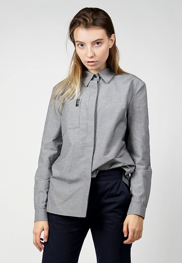 Купить Рубашка BURLO, MP002XW1AOVU, серый, Осень-зима 2017/2018