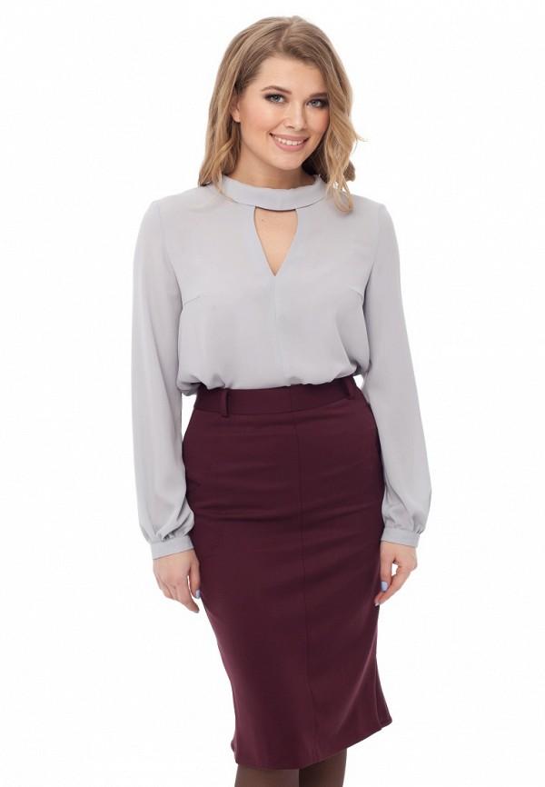 Купить Блуза Gloss, Katrin, MP002XW1AQL8, серый, Осень-зима 2017/2018