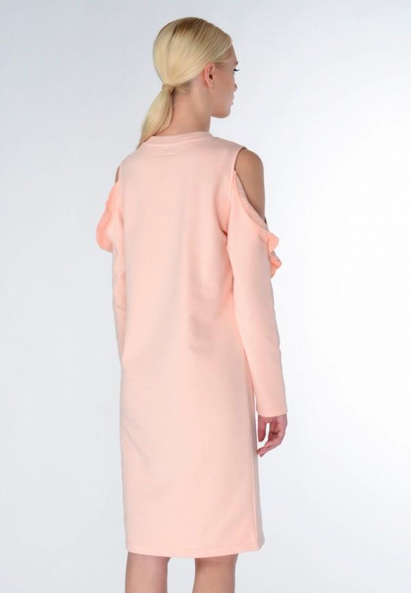 Фото 3 - женское платье Shtoyko бежевого цвета