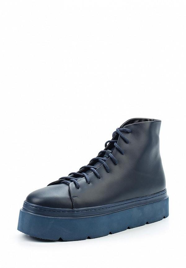 Купить Ботинки Poblenou, MP002XW1AV1H, синий, Осень-зима 2017/2018