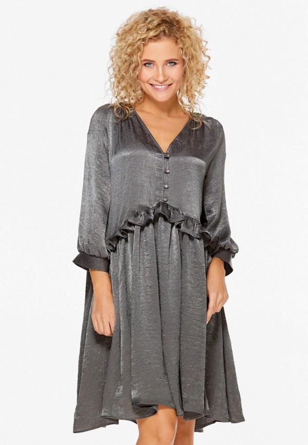 Купить Платье SoloU, MP002XW1AVDH, серый, Осень-зима 2017/2018