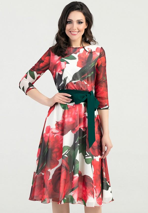 Платье Eva Eva MP002XW1AVR6 платье eva milano цвет красный черный горчичный