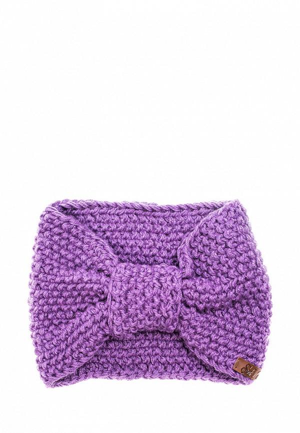 Повязка Sava Mari, MP002XW1AXX6, фиолетовый, Осень-зима 2017/2018  - купить со скидкой
