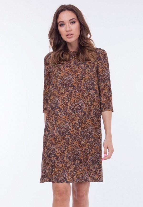Купить Платье Vladi Collection, MP002XW1AYU5, коричневый, Осень-зима 2017/2018
