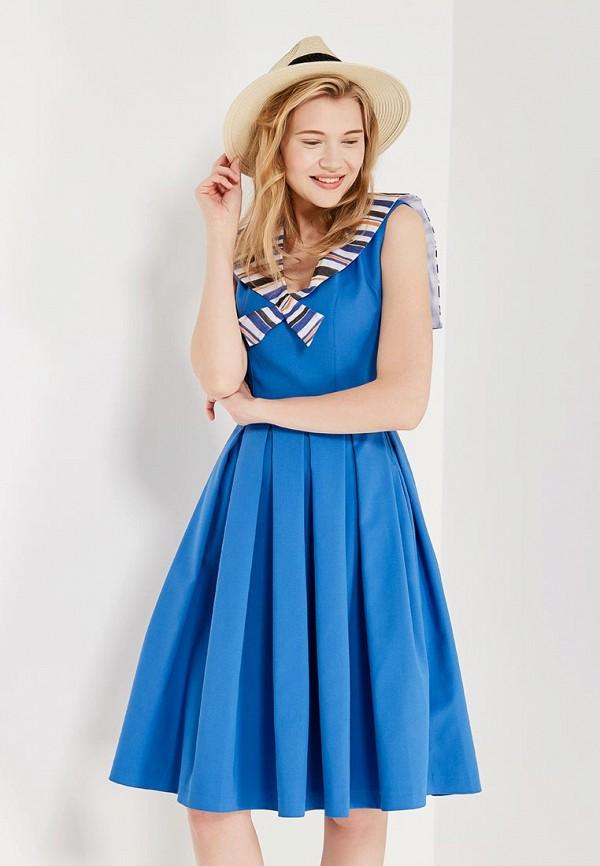 Купить Платье Laroom, MP002XW1B3AK, голубой, Осень-зима 2017/2018