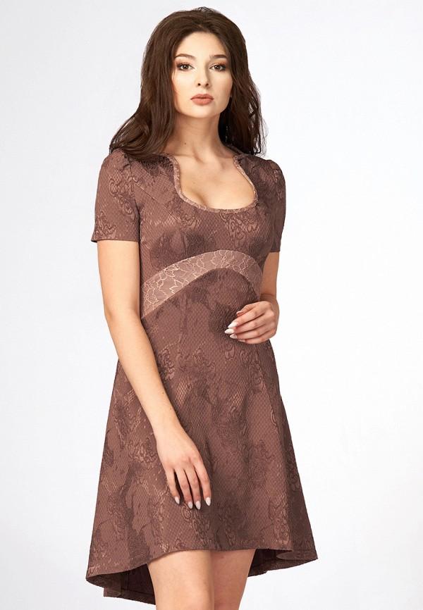 Купить Платье Ано, MP002XW1B3RB, коричневый, Осень-зима 2017/2018