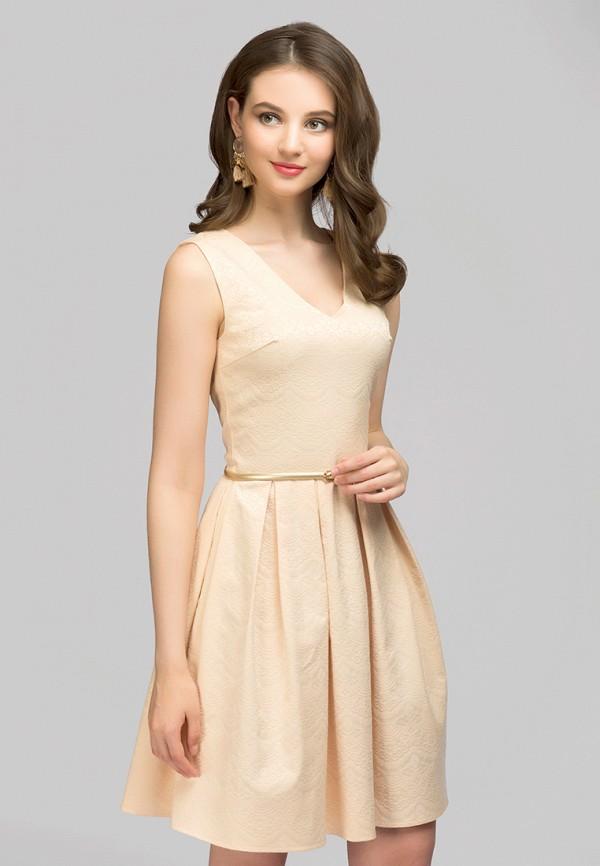 Платье 1001dress 1001dress MP002XW1F6N3 платье 1001 dress цвет бежевый