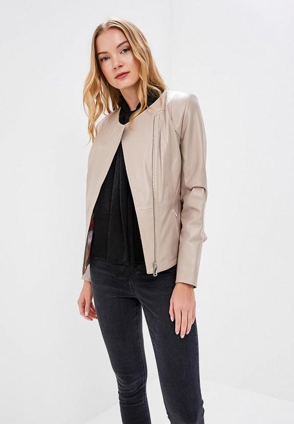 Купить Куртка кожаная Grafinia, MP002XW1F7TI, бежевый, Весна-лето 2017