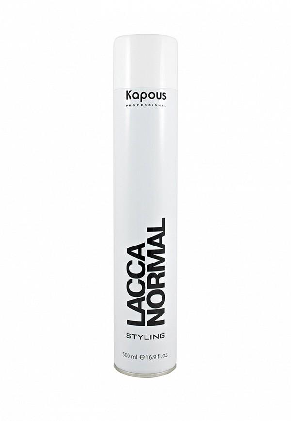 Лак для волос Kapous Kapous MP002XW1F8HQ kapous лак аэрозольный для волос нормальной фиксации kapous styling lacca normal 100 мл