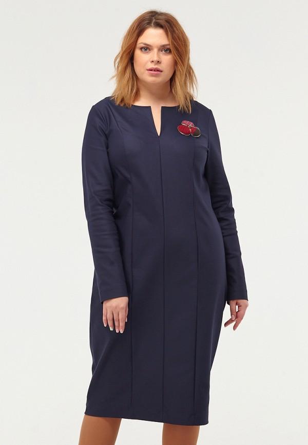 Купить Платье W&B, MP002XW1F9KP, синий, Осень-зима 2017/2018