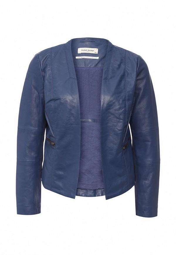 Кожаная куртка Naf Naf BENL7L