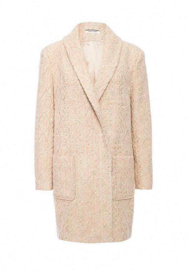 Пальто Naf Naf Naf Naf NA018EWKEU54 куртка утепленная naf naf naf naf na018ewkeu48