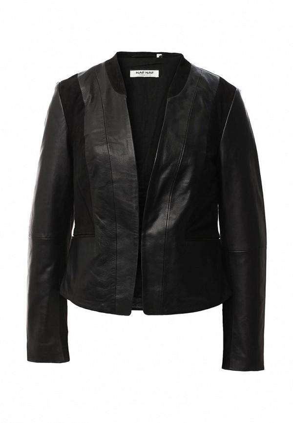 Кожаная куртка Naf Naf CHNL4L