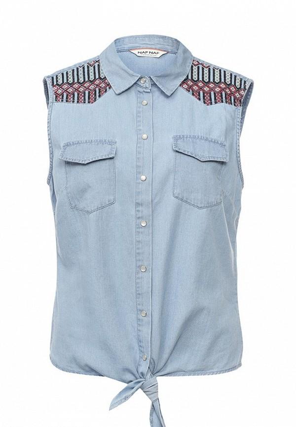 Рубашка джинсовая Naf Naf Naf Naf NA018EWPTA49 куртка утепленная naf naf naf naf na018ewkeu48