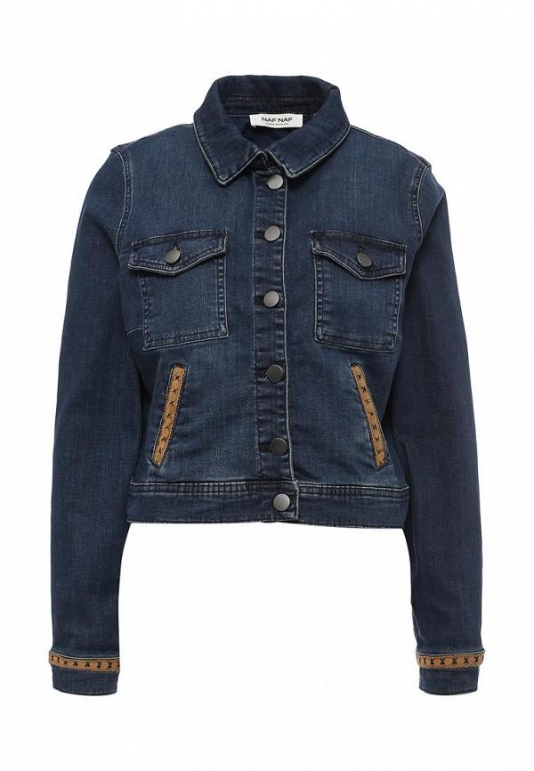 Куртка джинсовая Naf Naf Naf Naf NA018EWPTB43 куртка утепленная naf naf naf naf na018ewkeu48