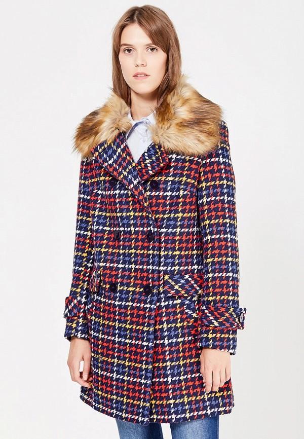 Пальто Naf Naf Naf Naf NA018EWUUO32 куртка утепленная naf naf naf naf na018ewkeu48