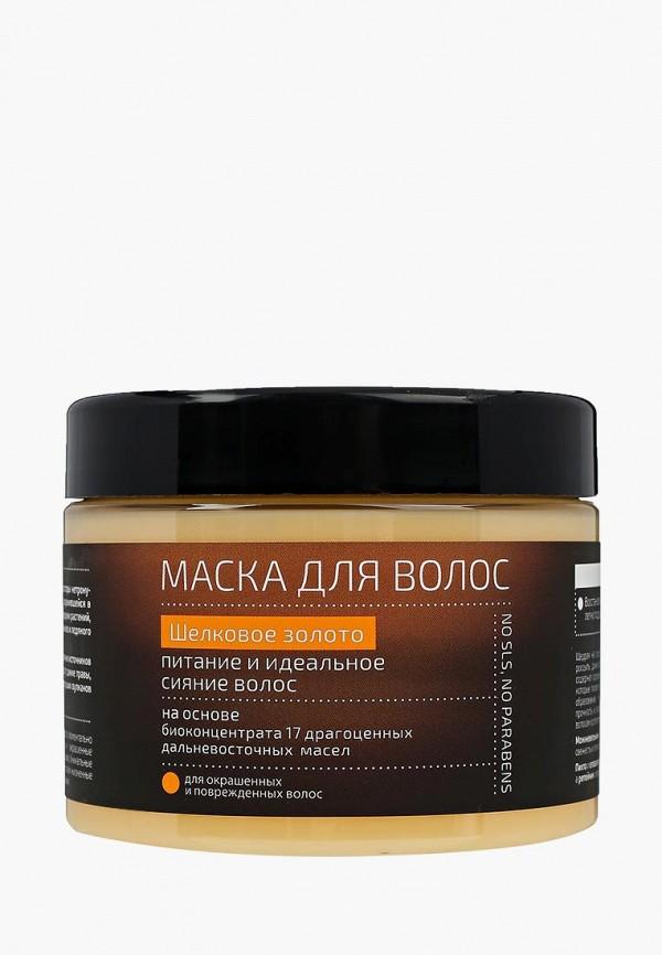 Купить Маска для волос Natura Siberica, Natura Kamchatka Шелковое золото питание и сияние, 300 мл, NA026LWUNB77, Весна-лето 2018