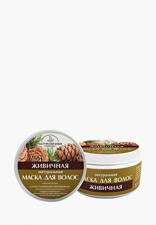 Купить Маска для волос Натуротерапия, Живичная 250 мл, NA027LWAYYQ4, прозрачный, Весна-лето 2018