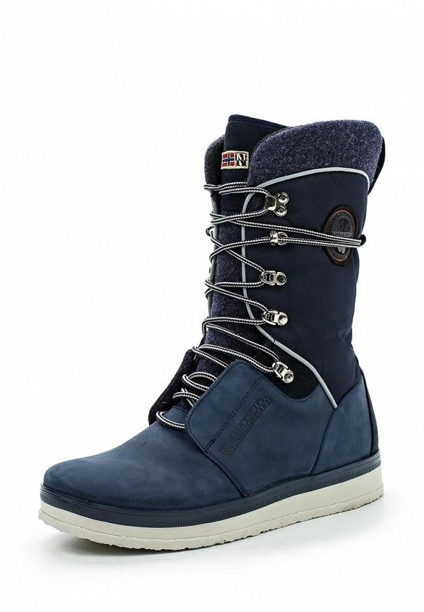 Ботинки Napapijri Napapijri NA154AWVOB65 napapijri guji check dark blue