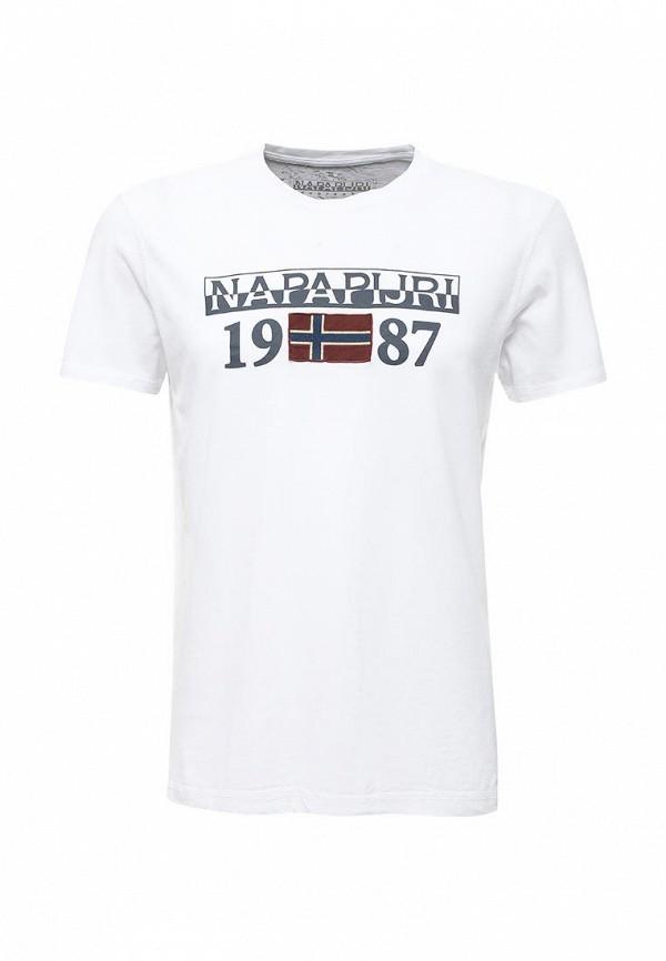 Футболка Napapijri Napapijri NA154EMVSU29 napapijri худи с эмблемой bochil