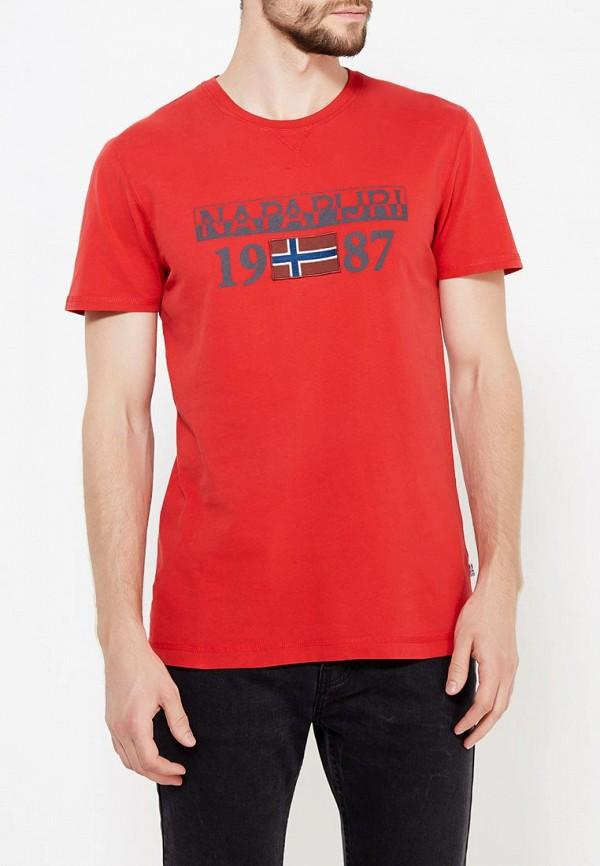 Футболка Napapijri Napapijri NA154EMVSU31 футболка napapijri napapijri na154ebahvo8