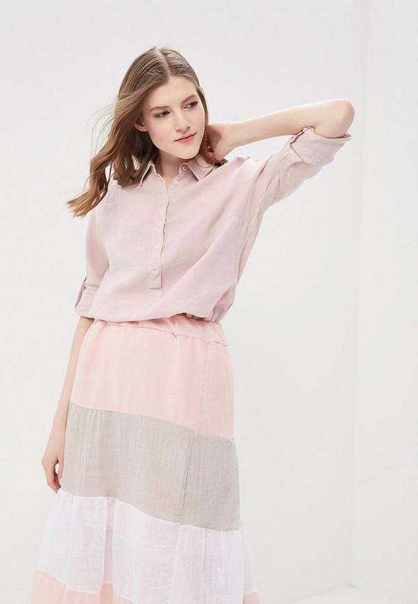 Купить Рубашка Napapijri, GYNURA, NA154EWAHVS1, розовый, Весна-лето 2018