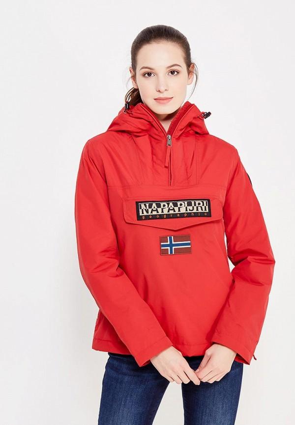 Куртка утепленная Napapijri Napapijri NA154EWVSZ33 napapijri худи с эмблемой bochil