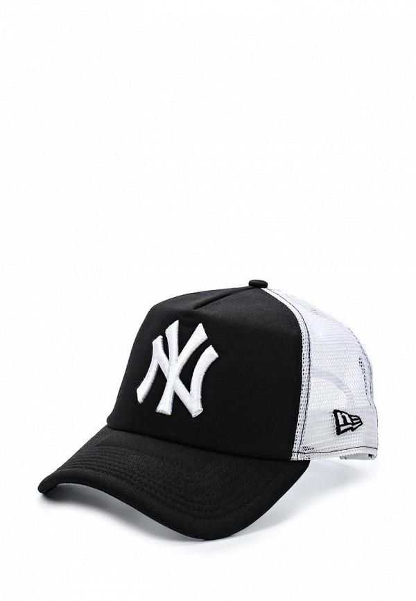 Бейсболка New Era SM MLB CLEAN TRUCKER NEYYAN BLK/WHT