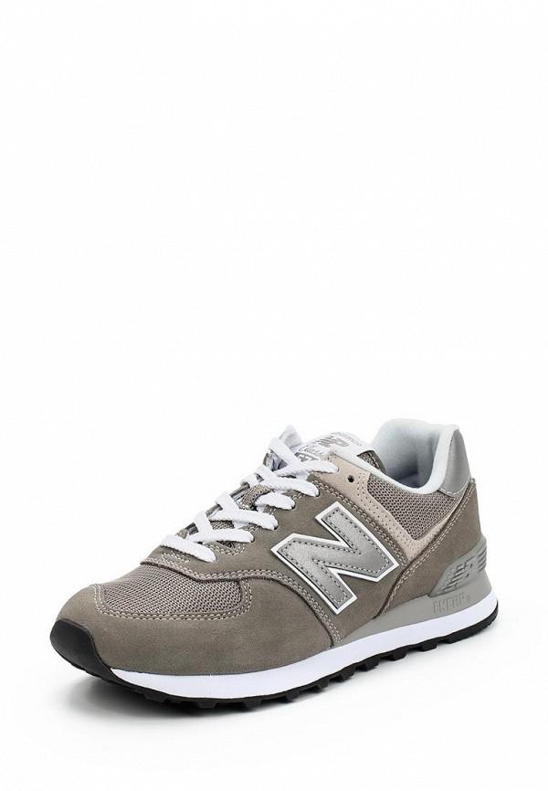 Купить Кроссовки New Balance, 574, NE007AWABGW4, серый, Весна-лето 2018