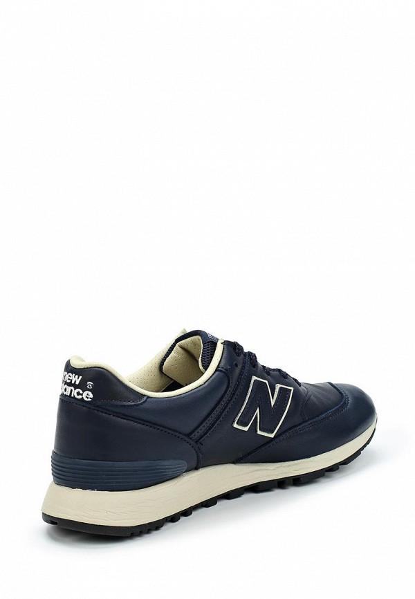 Фото 2 - женские кроссовки New Balance синего цвета