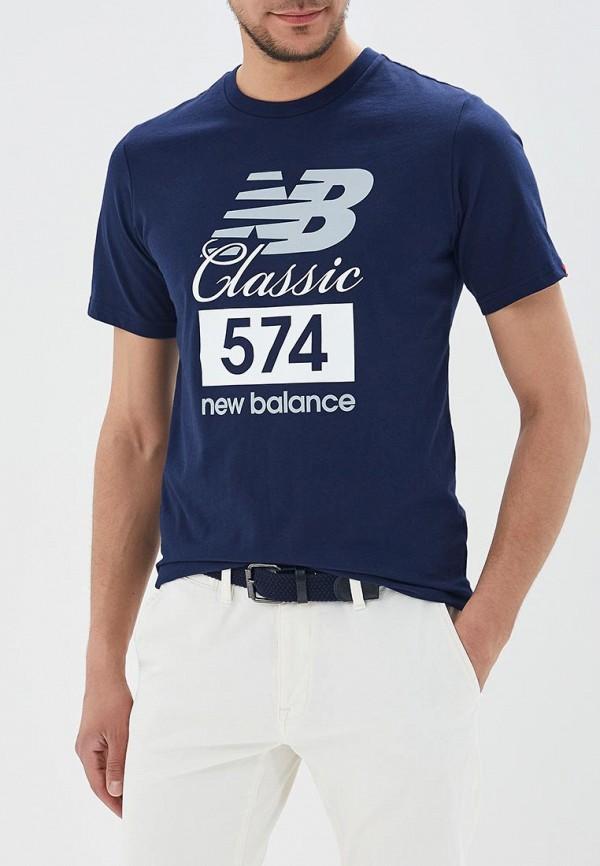Футболка New Balance New Balance NE007EMBFUZ2 футболка new balance new balance ne007emblpi1