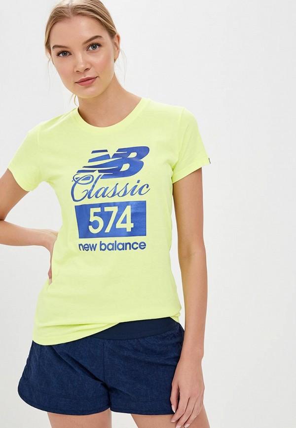 Футболка New Balance New Balance NE007EWBFVA4 футболка new balance new balance ne007emblpi1