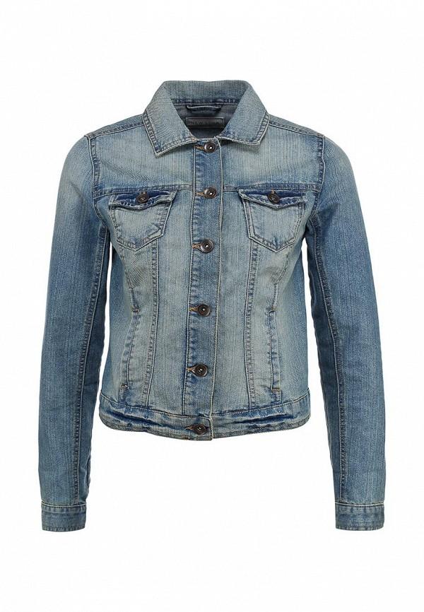 Куртка джинсовая New Look NE009EWBNO89. Цвет: синий