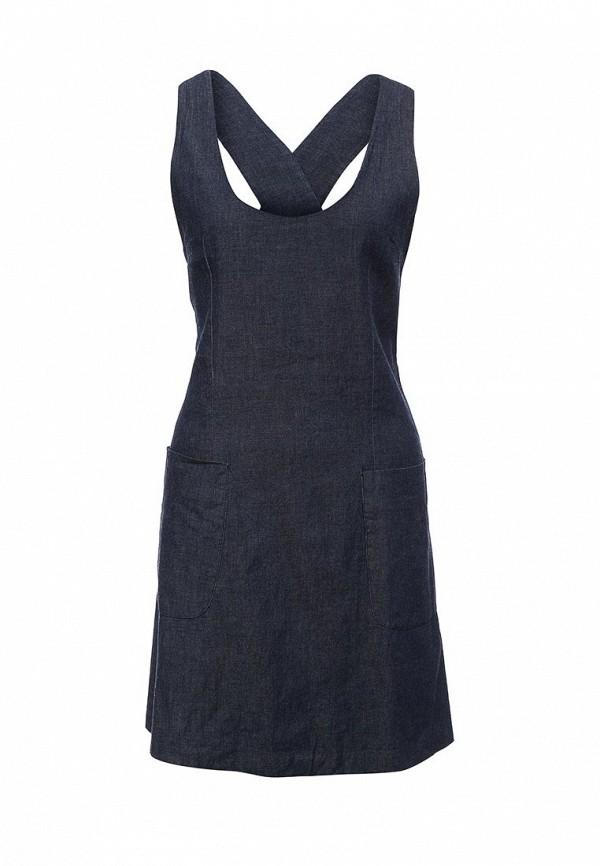 Купить женский сарафан NewLily синего цвета