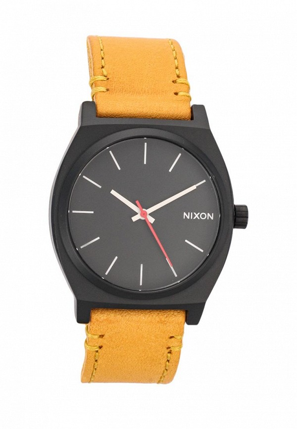 nixon часы женские 38 20 leather black hot pink Часы Nixon Nixon NI001DUSCA30