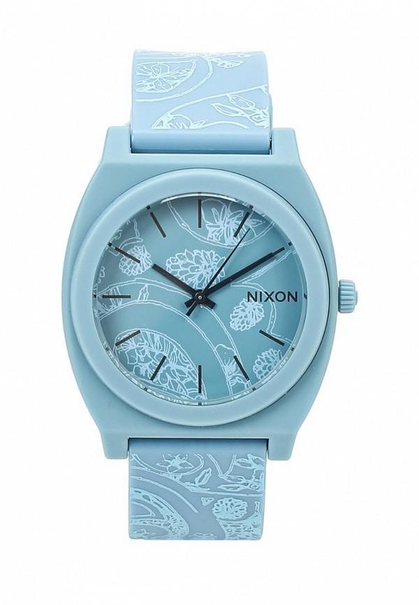 nixon часы женские 38 20 leather black hot pink Часы Nixon Nixon NI001DUSLL39
