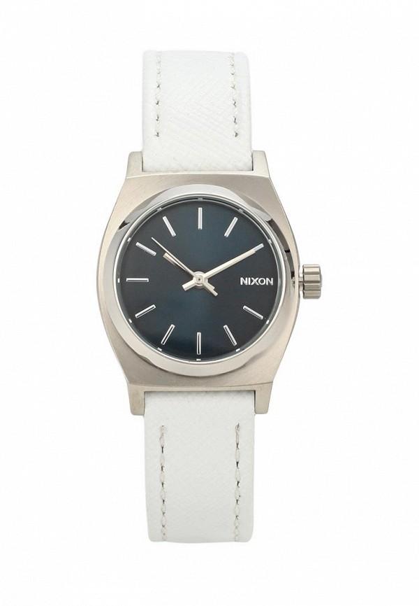 nixon часы женские 38 20 leather black hot pink Часы Nixon Nixon NI001DWMDI44