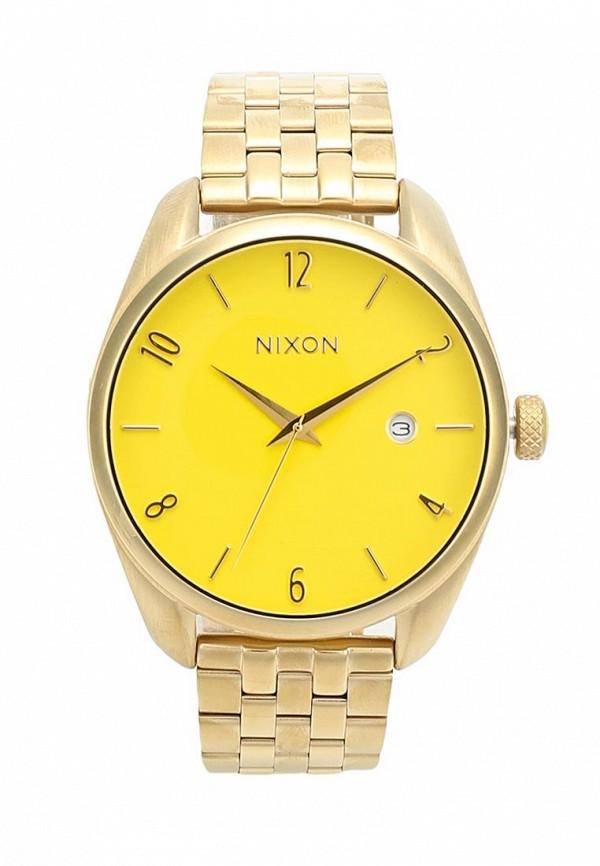 nixon часы женские 38 20 leather black hot pink Часы Nixon Nixon NI001DWWJW86