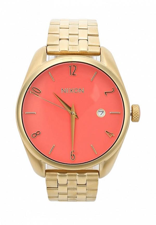 nixon часы женские 38 20 leather black hot pink Часы Nixon Nixon NI001DWWJW90