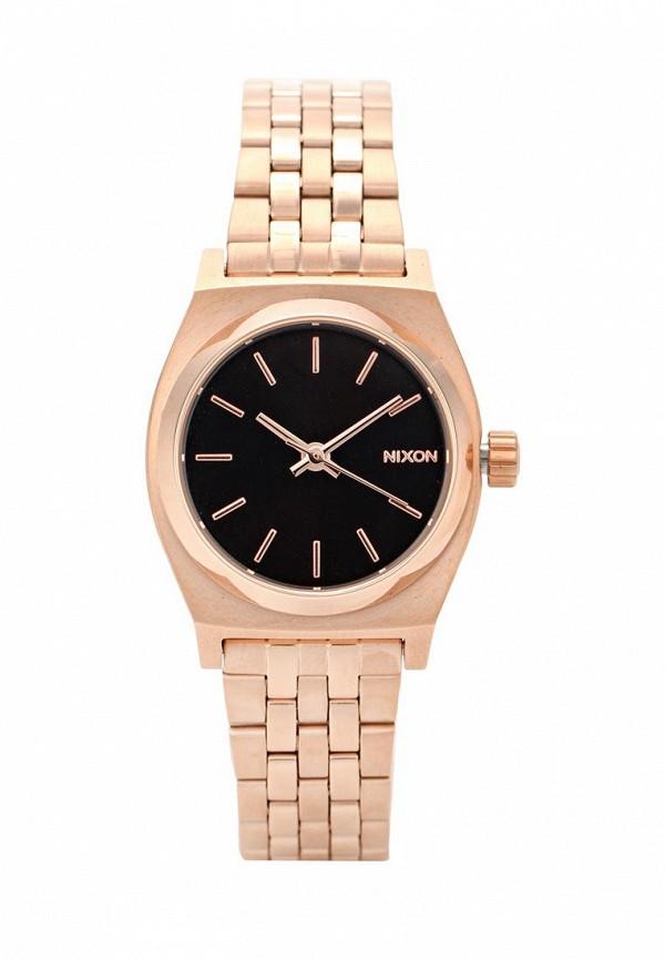 nixon часы женские 38 20 leather black hot pink Часы Nixon Nixon NI001DWXEF46